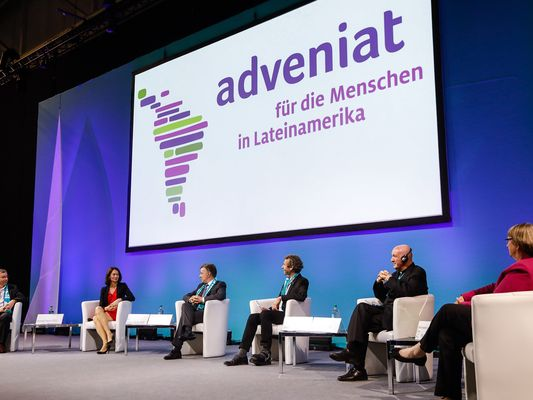Adveniat Podium Katholikentag